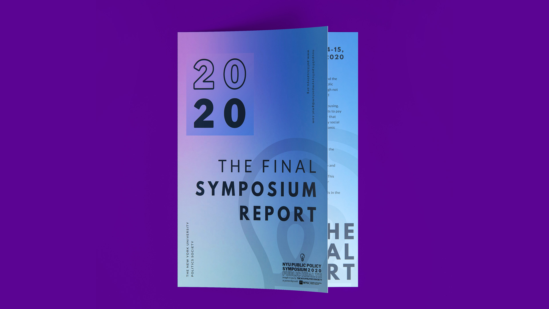 Download the Public Policy Symposium on Public Health Final Report