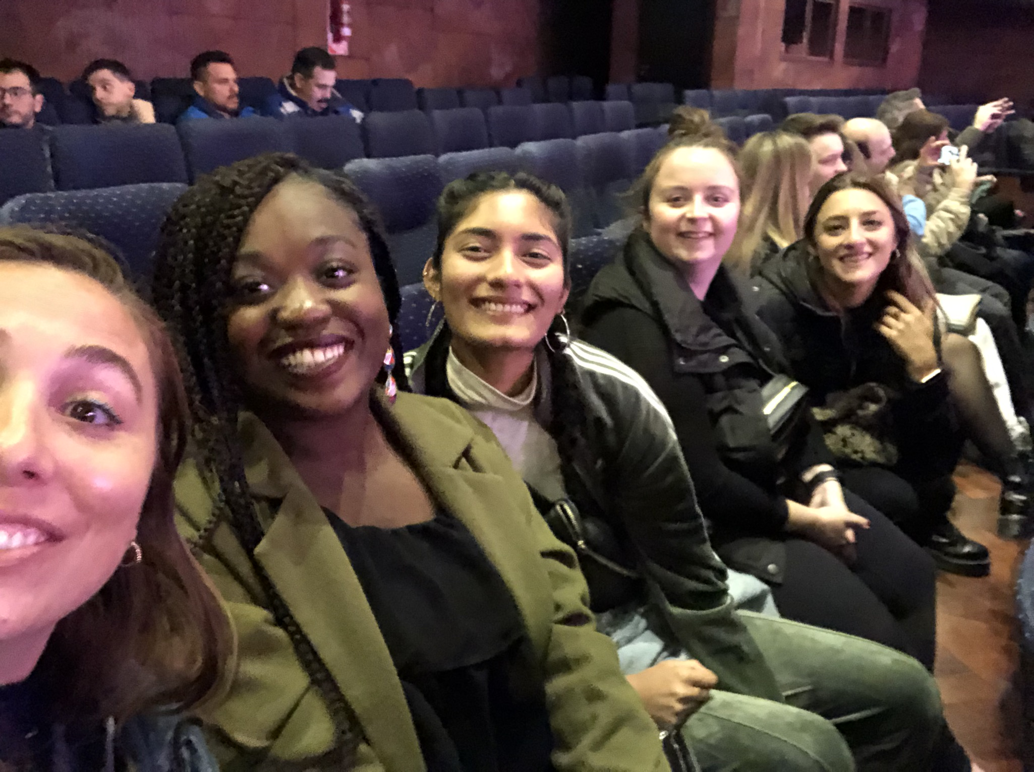 C-C MPH students attending a play in Spanish