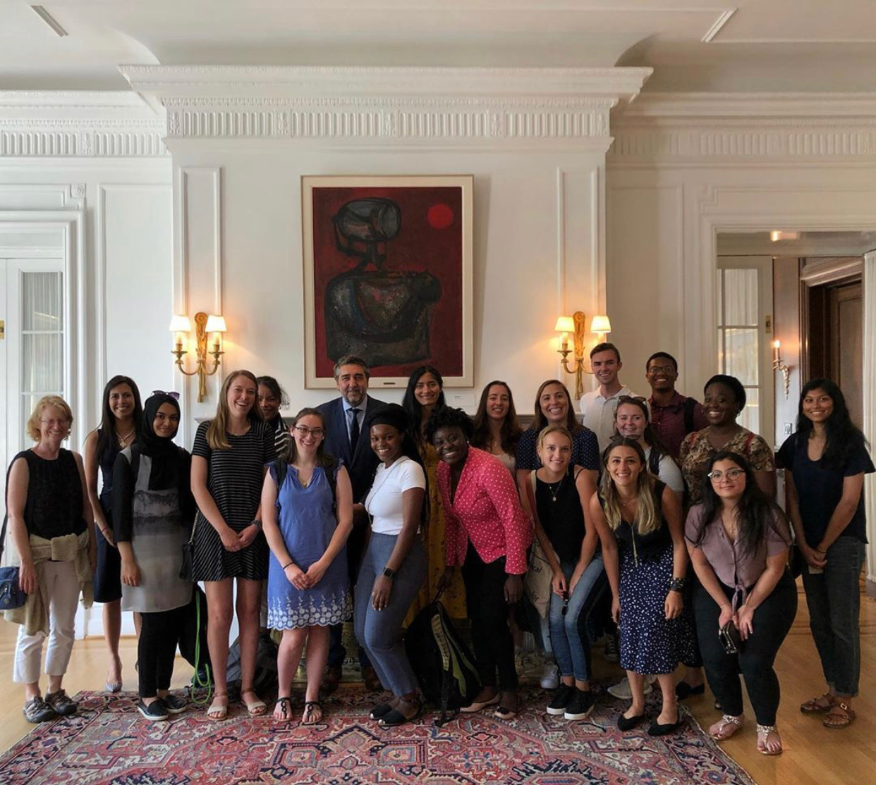 The CCMPH cohort at the Argentinian Embassy in D.C.