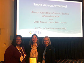 Rebecca Betensky at the 2019 APHA Annual Meeting