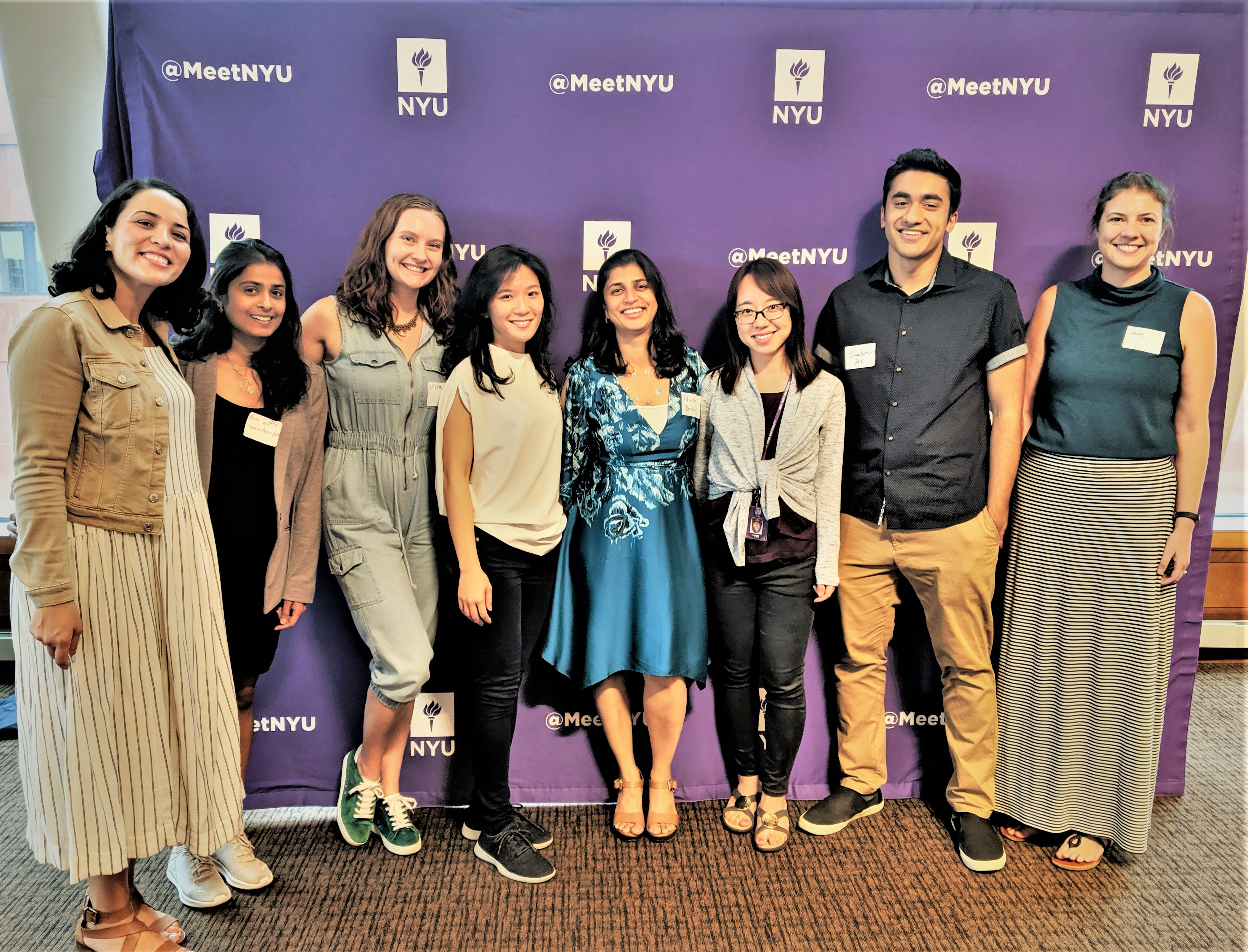 GPH at NYU University-Wide PhD Orientation