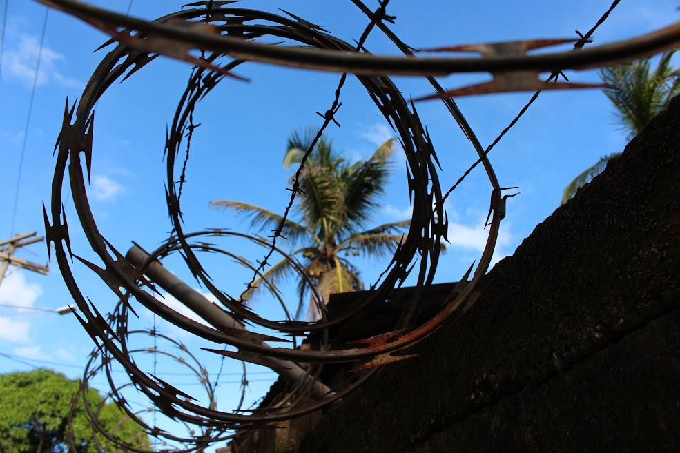 Urbanized Barbed Wire