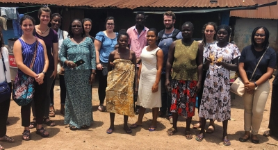 NYU CCMPH Students at Dodowa Research Centre