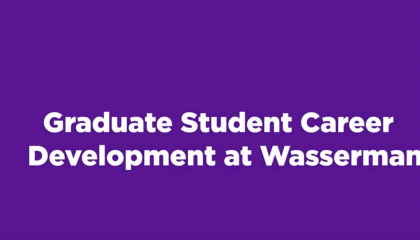 The Graduate Student Career Development Team at Wasserman