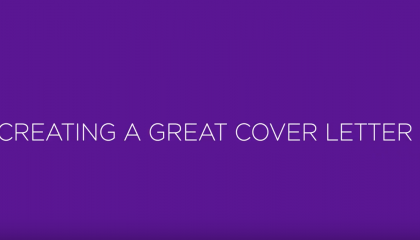 Building a Great Cover Letter