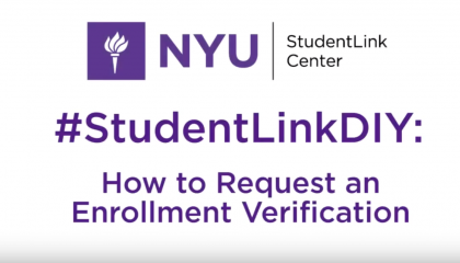 Obtaining an Enrollment Verification