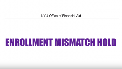 How to Fix the Enrollment Mismatch Hold