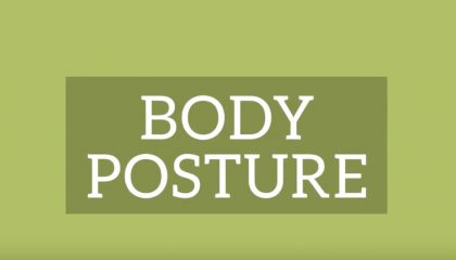 Interviewing Posture Basics