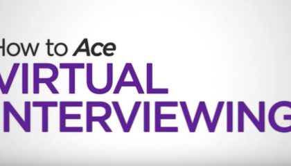 Ace your Virtual Interview!