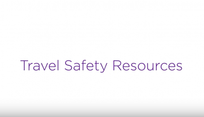 Travel Safety Resources