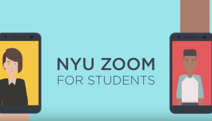 NYU Zoom for Students