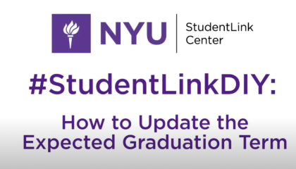 Updating Your Expected Graduation Term
