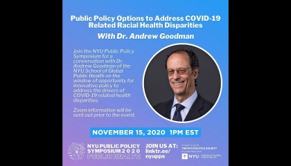 Public Policy Options to Address COVID-19 Related Racial Health Disparities