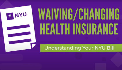Waiving/Changing Health Insurance