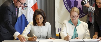 NYU GPH and Dominican Republic Sign Memorandum of Understanding About Human Papillomavirus (HPV) Prevention