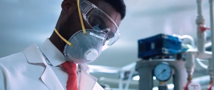 Doctor with N95 Mask